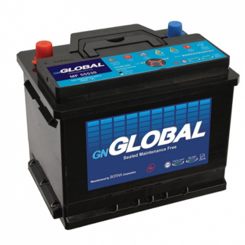 باتری سیلد مدل MF55530 جی ان گلوبال 55 آمپر